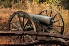Cannone della guerra civile Fotografie Stock Libere da Diritti