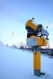 Cannone della neve fotografie stock