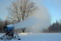 Cannone della neve Fotografie Stock Libere da Diritti