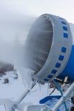Cannone della neve Fotografia Stock