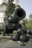 Cannone dello zar al Cremlino a Mosca Fotografia Stock