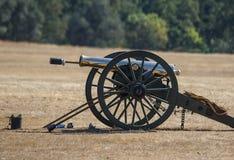 Cannone di era della guerra civile immagini stock