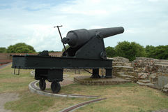 Cannone di guerra civile Immagine Stock Libera da Diritti