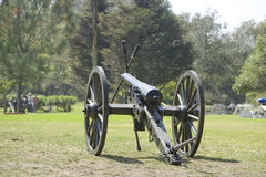 Cannone di guerra civile Fotografia Stock Libera da Diritti