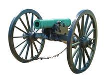 Cannone di guerra civile Immagini Stock