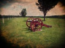 Cannone di Saratoga Springs Fotografia Stock Libera da Diritti