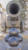 Cannone di Tsar Fotografia Stock Libera da Diritti