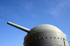 Cannone di WWI immagini stock