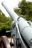 Cannone francese (guerra mondiale I) Fotografie Stock Libere da Diritti