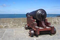 Cannone medievale Fotografia Stock