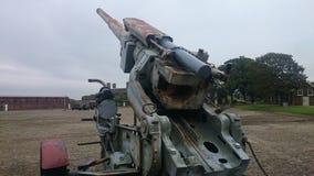 Cannone militare Fotografia Stock Libera da Diritti