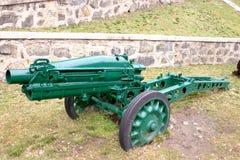 Cannone militare fotografie stock
