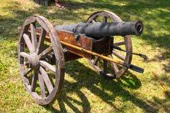 Cannone militare antico Fotografia Stock Libera da Diritti