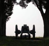 Cannone nel pomeriggio Fotografie Stock Libere da Diritti