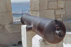 Cannone nella fortezza Immagini Stock