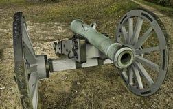 Cannone rivoluzionario di guerra Fotografie Stock Libere da Diritti