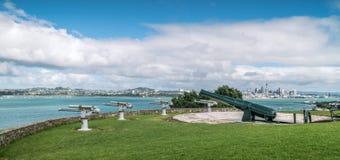 Cannone storico sulla riserva della testa di Nord Immagine Stock