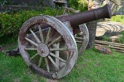 Cannone in Taytay, Palawan Fotografia Stock Libera da Diritti