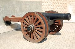 cannone vecchio Fotografia Stock Libera da Diritti
