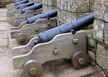 Cannoni Fotografia Stock Libera da Diritti