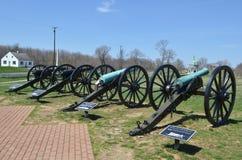 Cannoni - campo di battaglia nazionale di Antietam Maryland Fotografia Stock