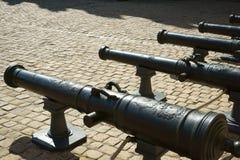 Cannoni a Les Invalides Parigi Francia Fotografie Stock Libere da Diritti