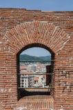 Cannoniera sulla fortezza fotografie stock