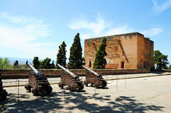 Cannons at Alhambra Royalty Free Stock Photos