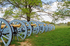 Cannons At Valley Forge Royalty Free Stock Image