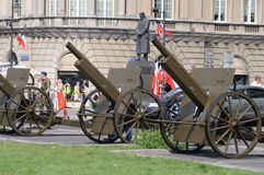 CANNONS BATTERY Royalty Free Stock Images
