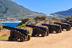 Cannons - Cape Town, South Africa Coast Royalty Free Stock Image
