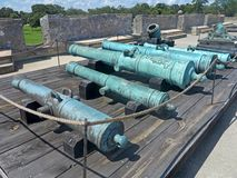 Cannons Stock Photo