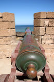 Cannons of Essaouira Stock Photos
