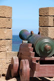 Cannons of Essaouira Stock Image