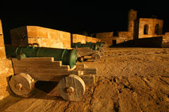 Cannons of Essaouira Royalty Free Stock Photo