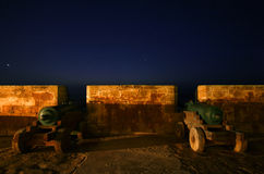 Cannons of Essaouira Stock Photography