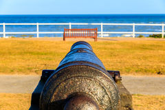 Cannons on Gun Hill Stock Photography