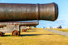 Cannons on Gun Hill Stock Images