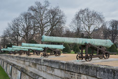 Cannons at Invalides Royalty Free Stock Image