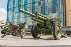 Cannons in Kharkiv Stock Photos