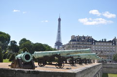 Cannons of Les Invalide Stock Photos