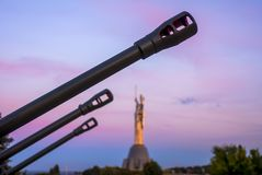 Cannons of the Mother of the Fatherland Stock Photo