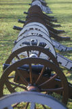 Cannons at the Revolutionary War National Park Royalty Free Stock Photos