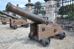Cannons Stock Photos