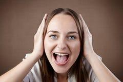 Cannot hear you Stock Photos