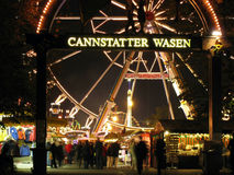 Cannstatter Wasen main gate Royalty Free Stock Photography