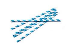 Cannucce blu Fotografia Stock