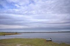 Canoë-kayak en Floride Photo stock