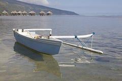 Canoë polynésien Image libre de droits