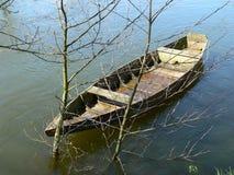 Canoë sur La Dordogne, Beynac (Frankrijk) royalty-vrije stock foto